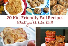 20 Kid-Friendly Fall Recipes from Mom Envy. Lots of pumpkin recipes and apple recipes. Perfect recipes for kids. #kidrecipes #fallfoods #comfortfood #pumpkineverything