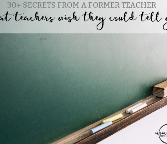 What Teachers Wish They Could Tell You. Read over 30 secrets from a former teacher. Back to school. Teachers.