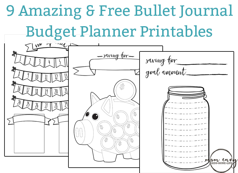 easy budget planner free printable worksheets