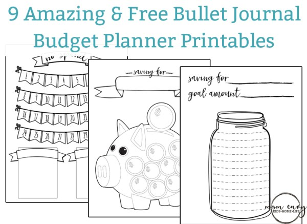 Free Budget Planner Stickers - 11 Printable Pages of ...