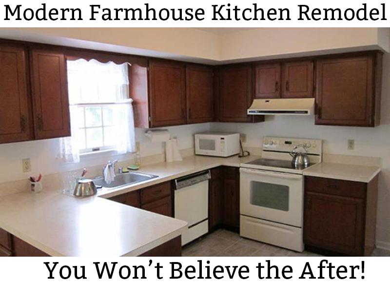 Modern Farmhouse Kitchen Remodel Reveal Mom Envy