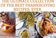 The Best Thanksgiving Recipes. Check out the ultimate collection of Thanksgiving recipes from the best bloggers. You'll find turkey recipes, thanksgiving side recipes, Thanksgiving dessert recipes, and more. #thanksgiving #thanksgivingrecipes
