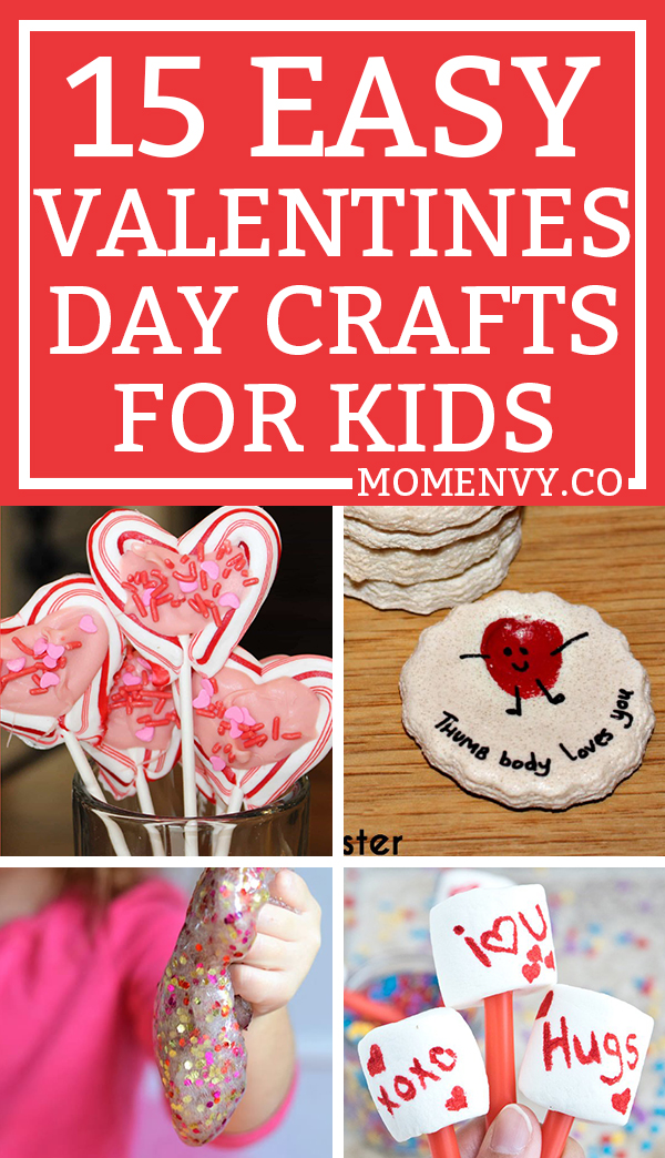 Valentine S Day Crafts For Kids 15 Classroom Friendly