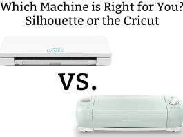 Silhouette vs Cricut - Which is the best craft cutting machine? Silhouette or Cricut? Both machines have their pros and cons. See which cutting machine is for you.