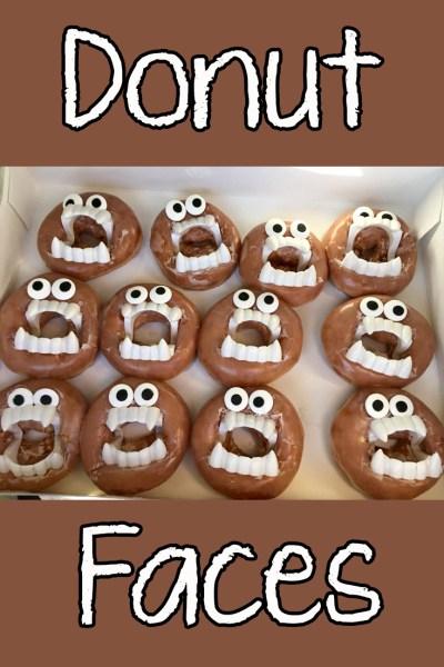 Donut faces title
