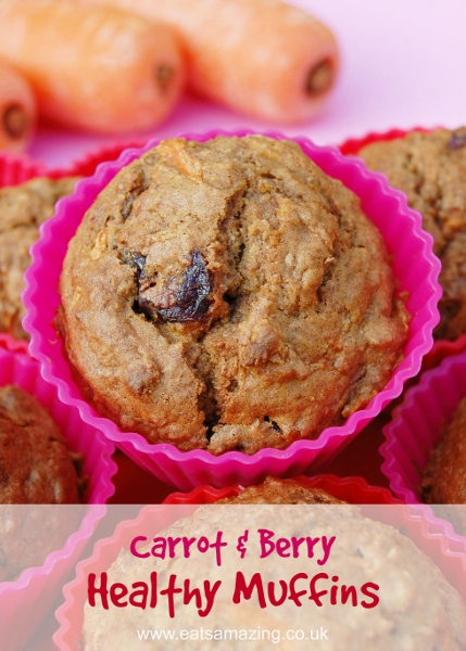 Healthy-carrot-and-berry-muffin-recipe-great-lunchbox-food-idea-from-Eats-Amazing-UK
