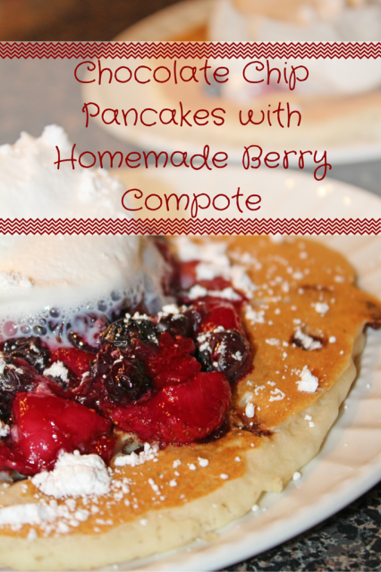 Chocolate-Chip-Pancakes-with-Homemade-Berry-Compote