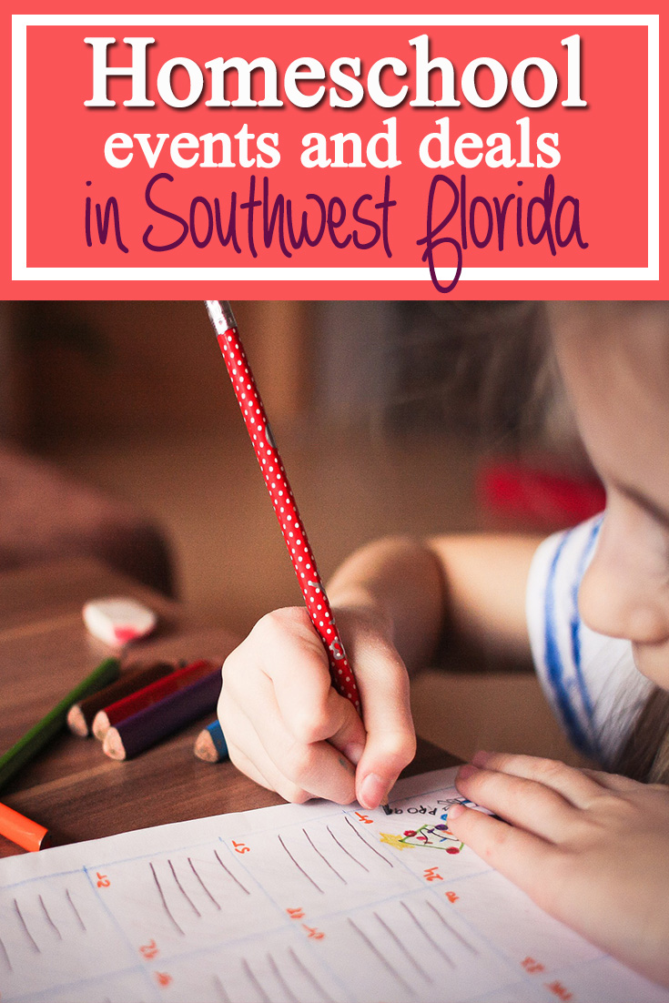 Homeschool Events and deals in southwest Florida. Check out all of the fun places to take students.