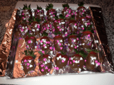 Valentine's Chocolate Covered Strawberries (Video)