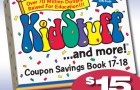 KidStuff Coupon Books on sale for $15 from $25!