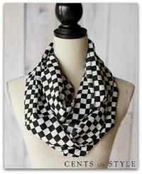 Flash Sale on Black & White Infinity Scarves | Mom Fabulous
