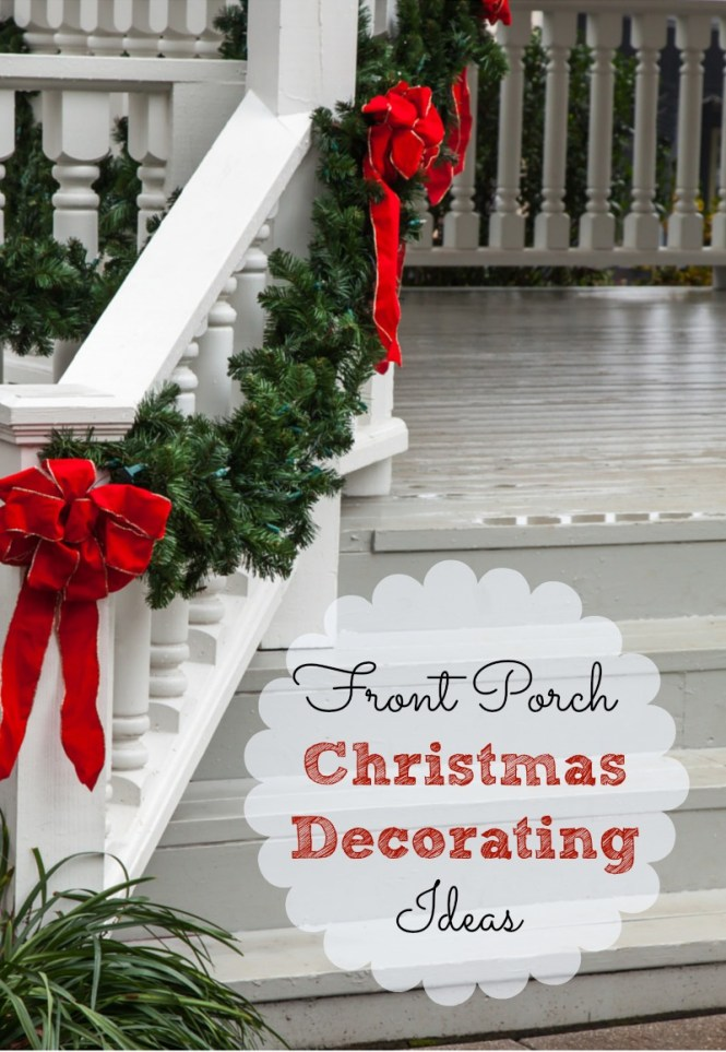 Cool Diy Decorating Ideas For Christmas Front Porch 16