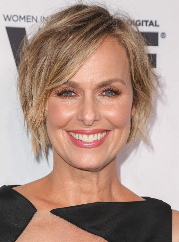 Celebrity hairstyles of the week - Melora Hardin glows at the 5th Annual Women Making History Brunch.
