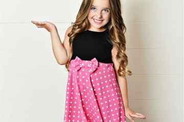 Disney Princess Minnie Mouse Inspired Dress