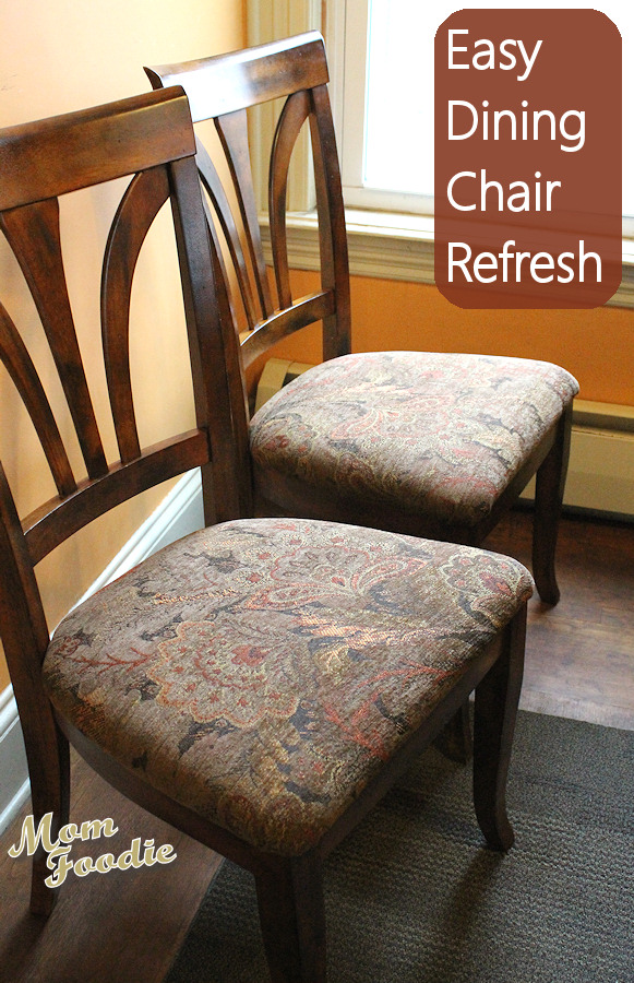 material to reupholster dining room chairs farmhouse kitchen chairs: easy diy project