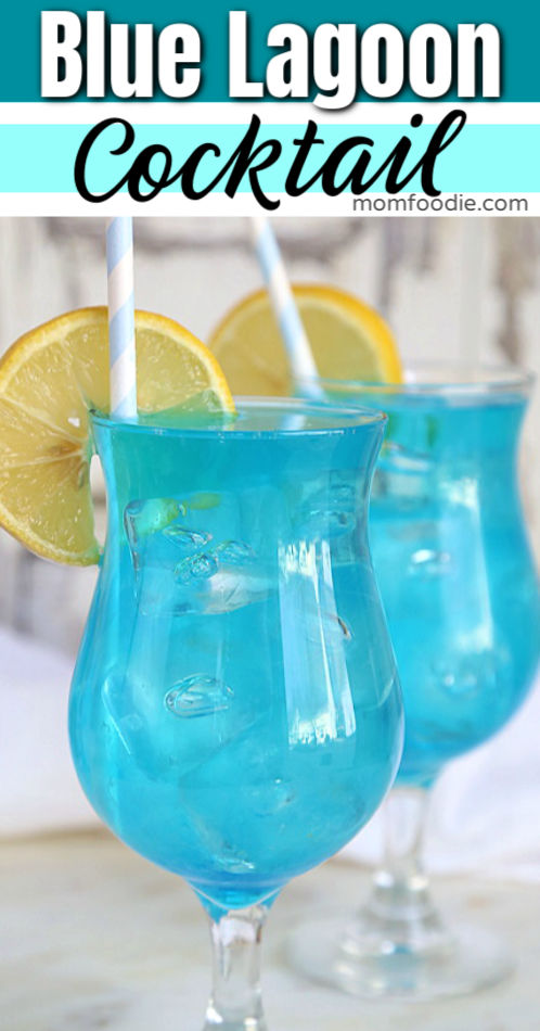 Blue Lagoon Cocktail - Easy blue drink recipe