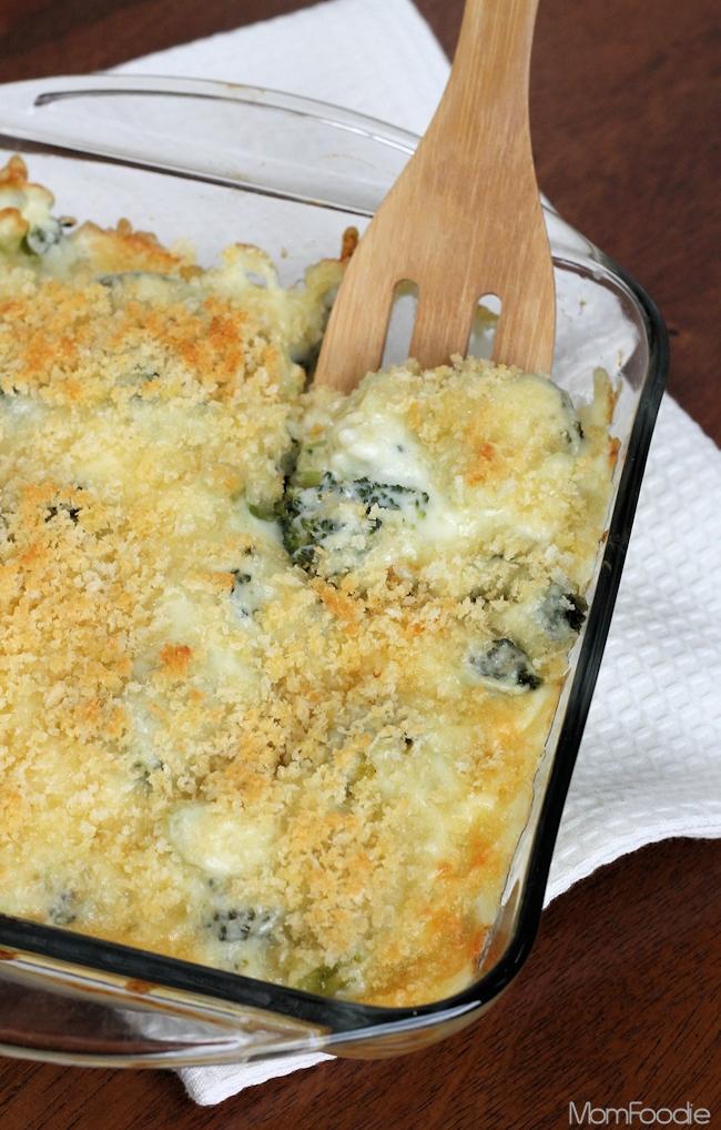 Broccoli au Gratin Casserole Recipe: Super Cheesy Broccoli ...