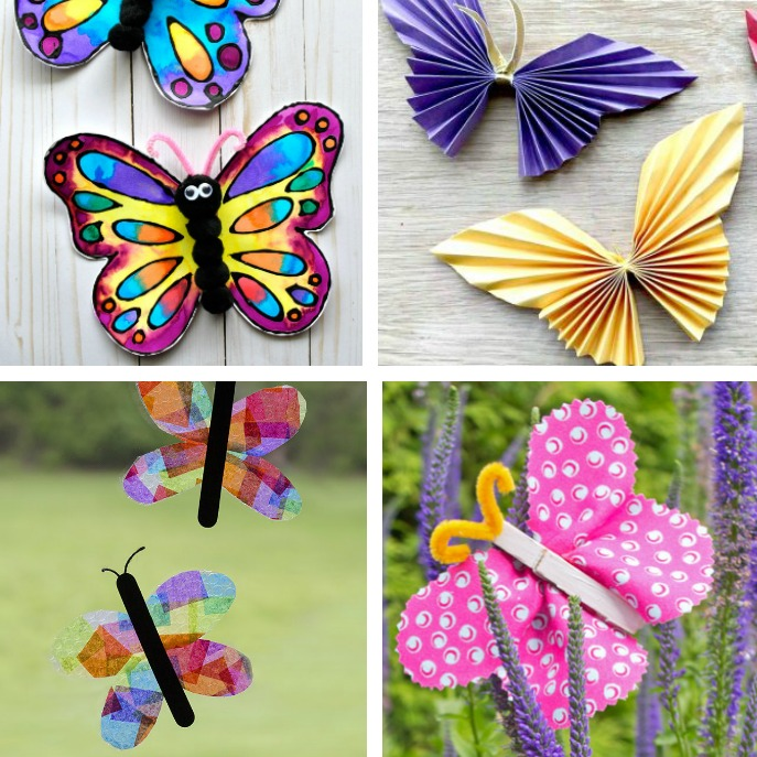 Butterfly Crafts For Kids Fun Paper Crafts Children Will Love Learning