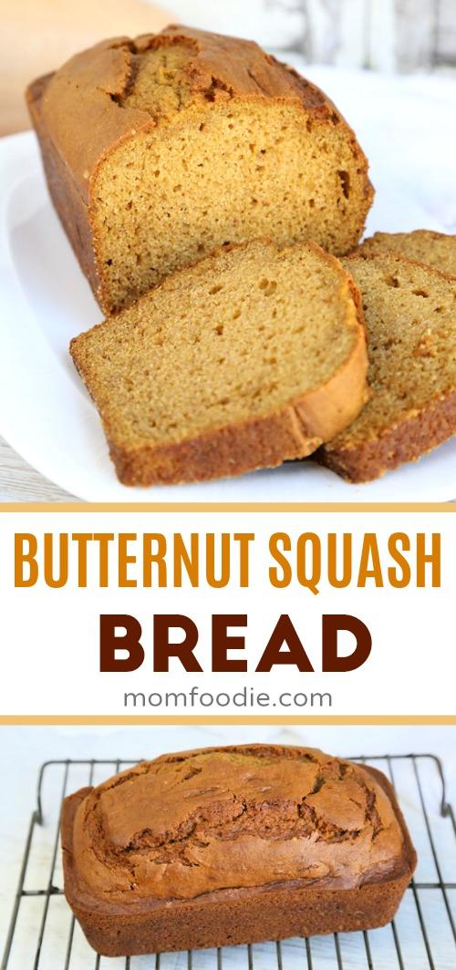 Butternut sqash bread