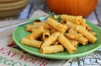 Creamy Pumpkin Pasta Recipe -Vegan