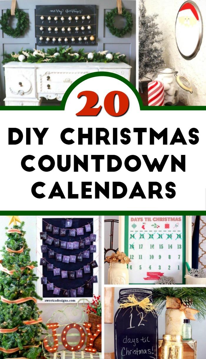 Diy Countdown Calendar : Diy christmas countdown calendar ideas mom foodie