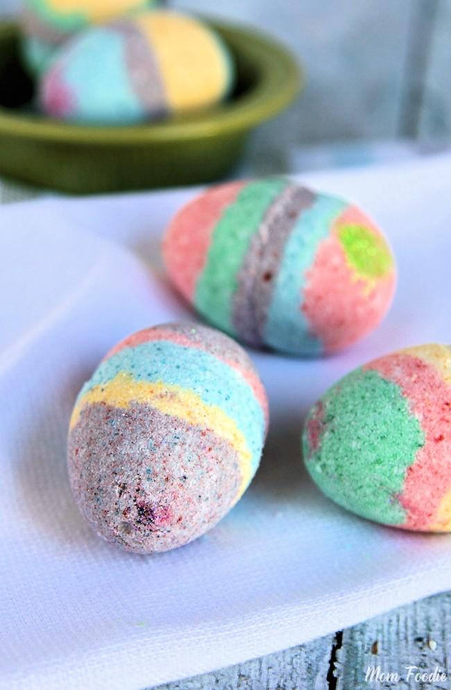 Easter Egg Bath Bombs Recipe