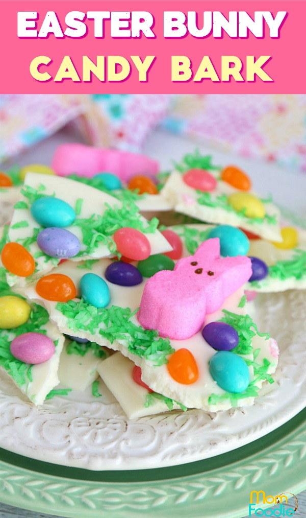 Easter Candy Bark Pinterest