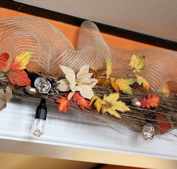 Fall Garland for Doorway