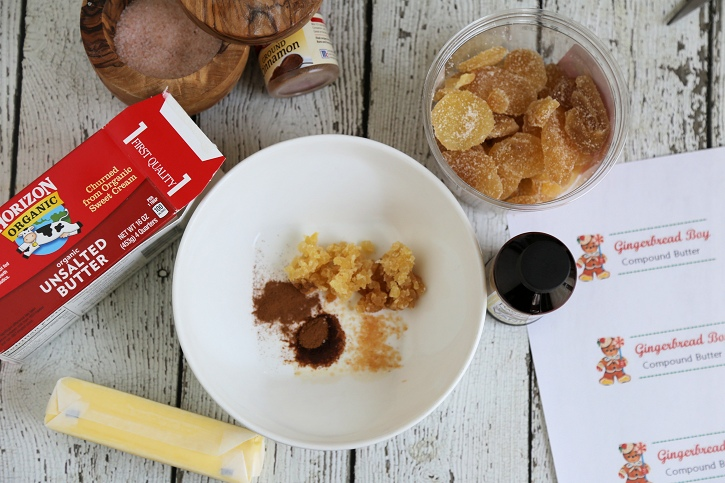 Gingerbread Compound Butter