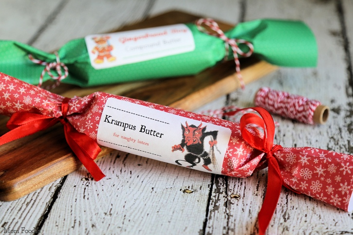 Holiday Compound Butters Krampus Butter