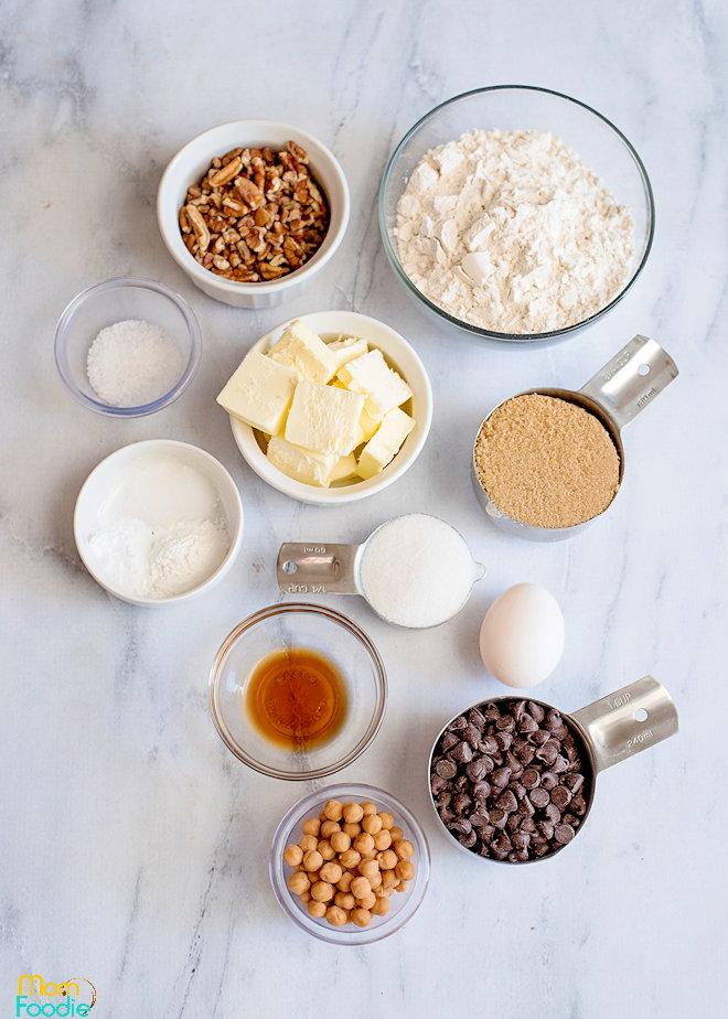Ingredients Salted caramel cookie bars