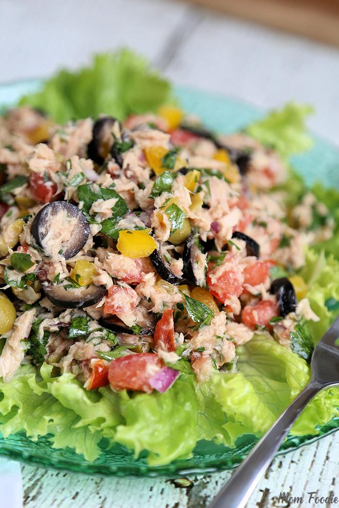 Italian Tuna Salad - no mayo