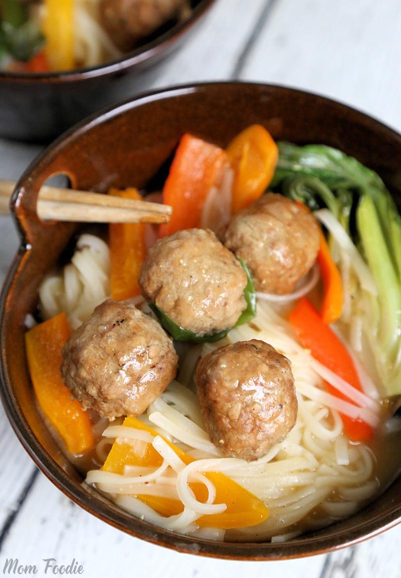 Korean Meatballs Hot Pot Bowl