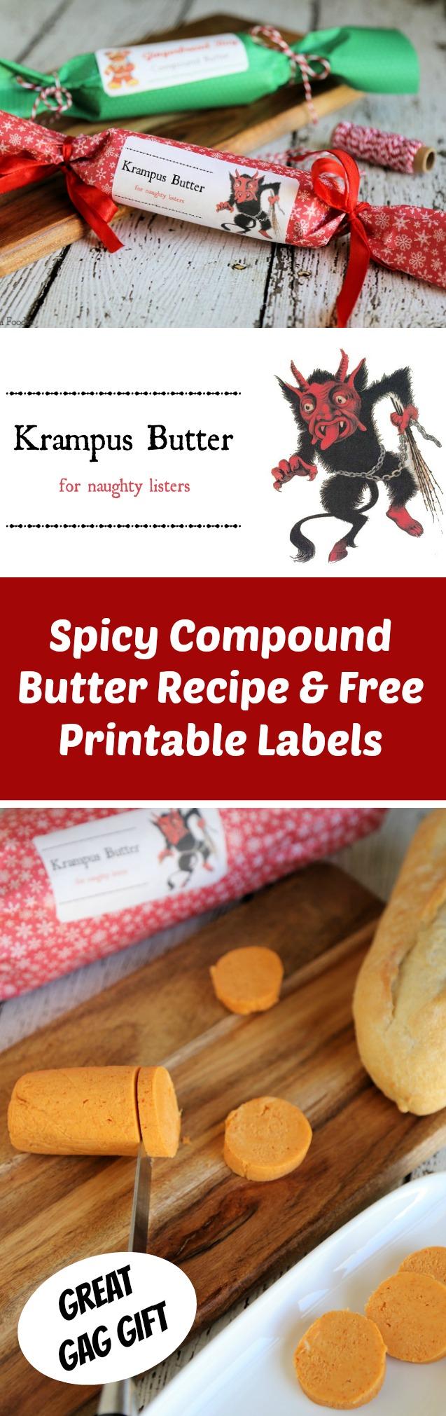 Krampus Butter: Homemade Gag Christmas Gift