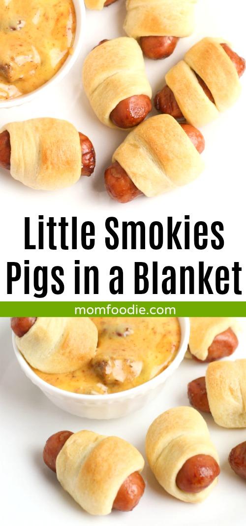Little Smokies Appetizers - Mini Pigs in a Blanket