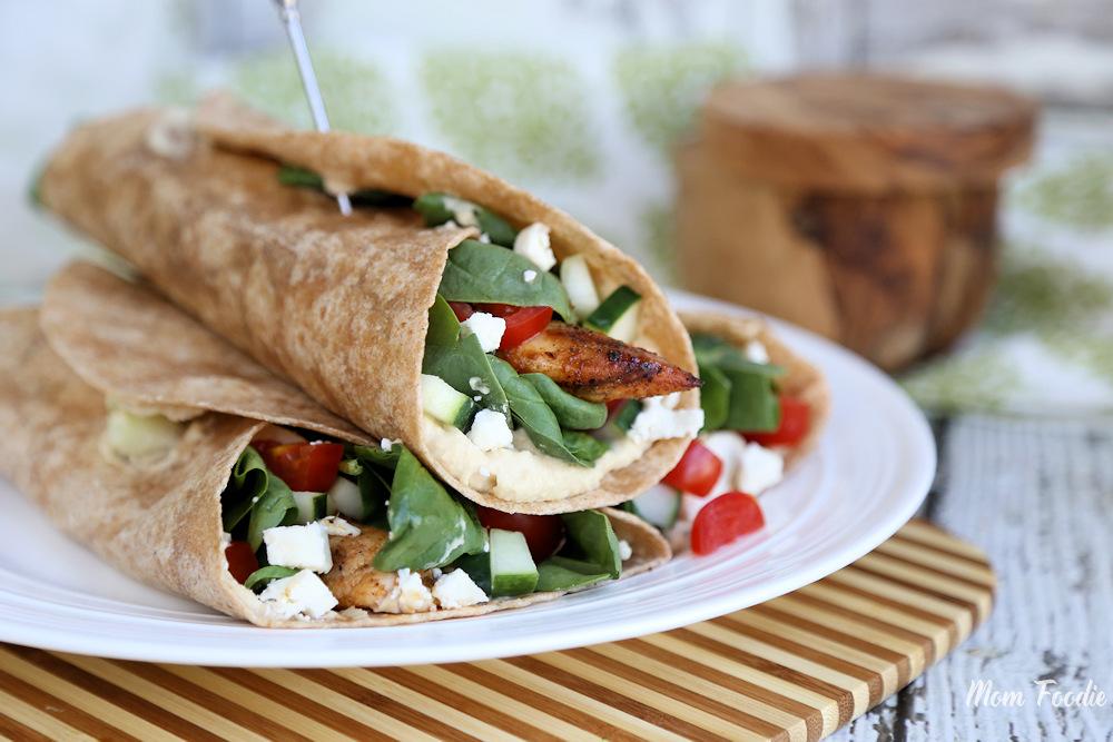 Mediterranean Chicken Wrap Recipe 2