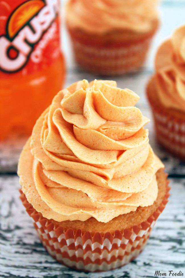 Orange Cupcake Recipe