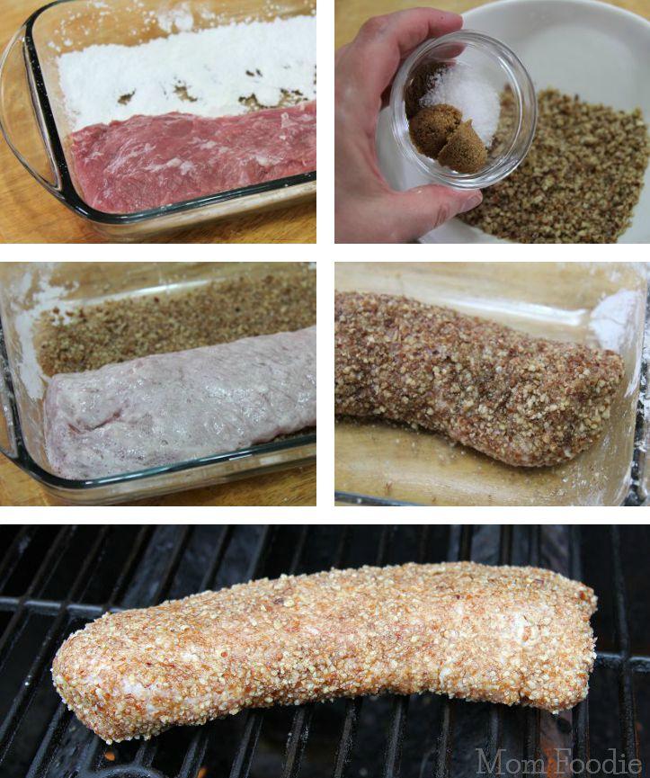 Pecan Pork Crust
