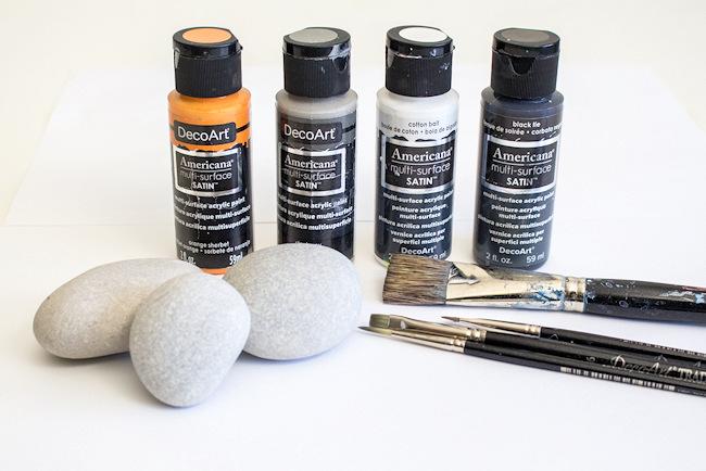 supplies Penguin Painted Rocks