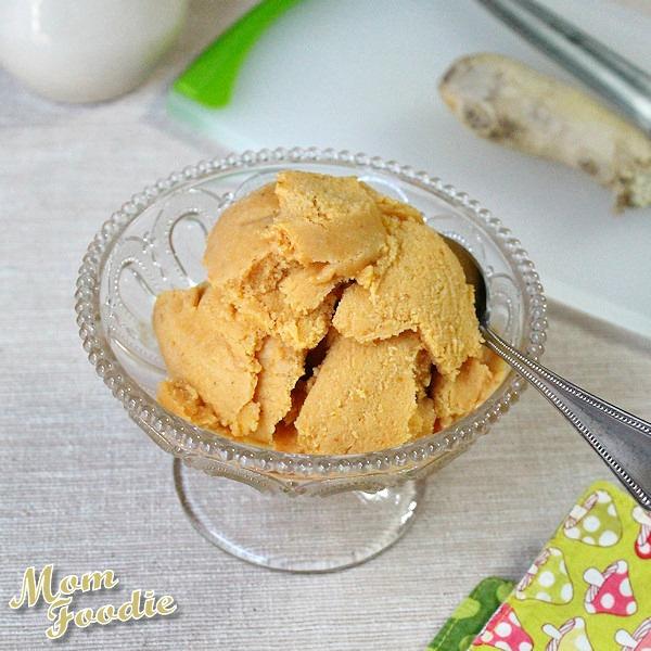Pumpkin Ginger Gelato non dairy
