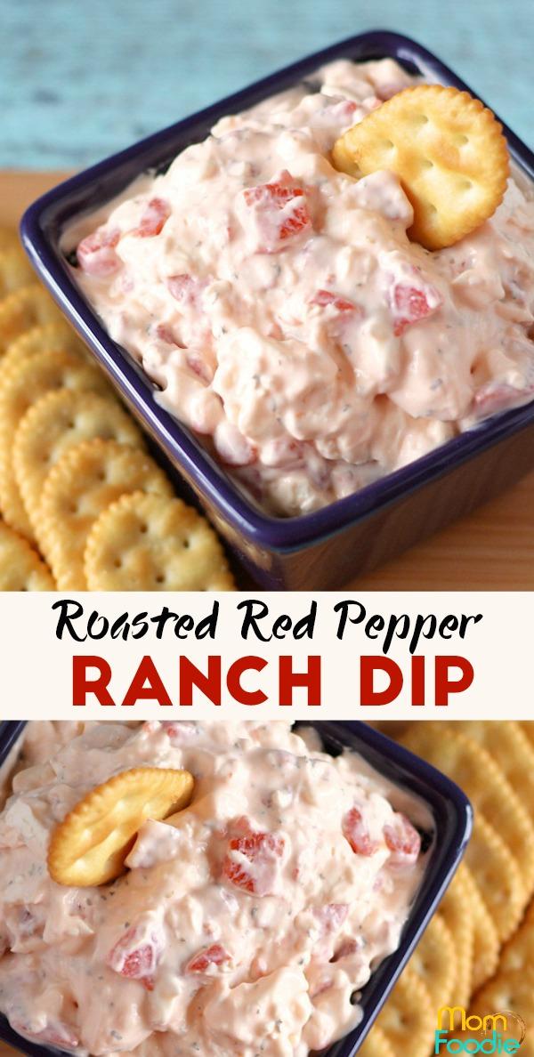 Red Pepper Ranch Dip