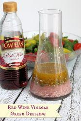 Red Wine Vinegar Greek Salad Dressing
