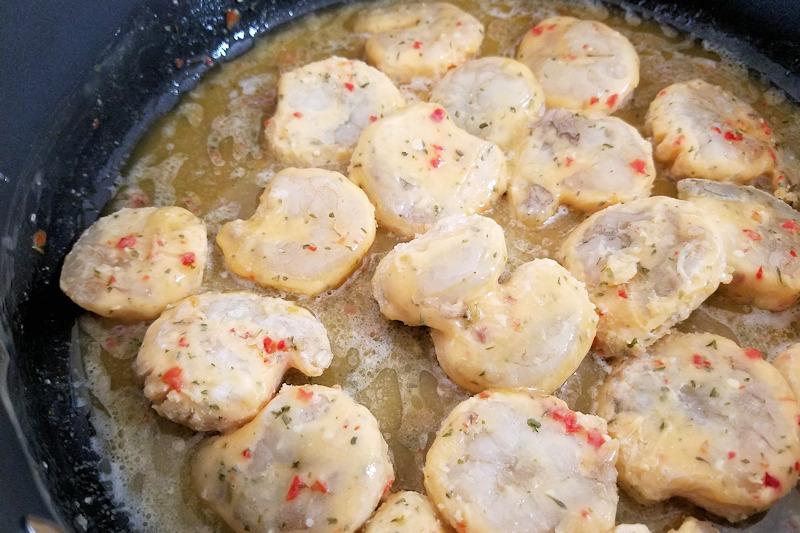 Seapak Shrimp Scampi thawing