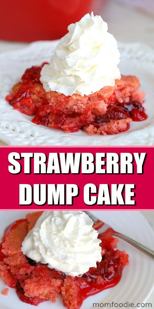 Strawberry Dump Cake Pinterest