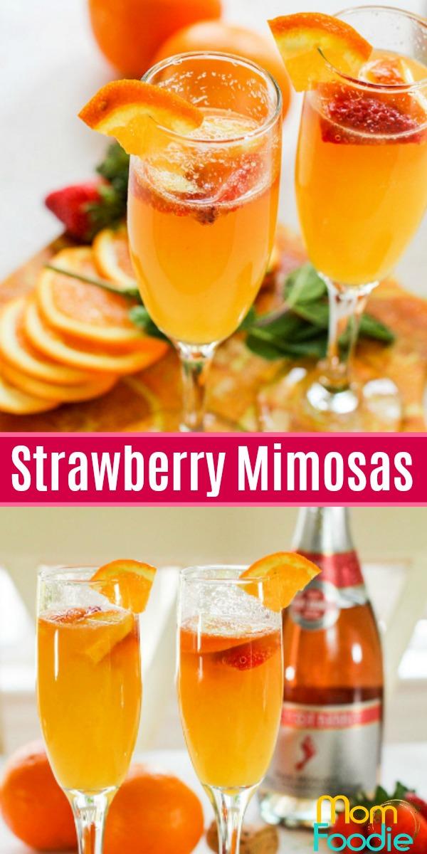 Strawberry mimosas recipe