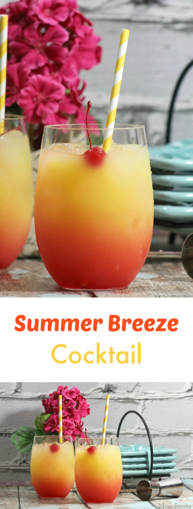 Summer Breeze Cocktail Recipe- great for parties