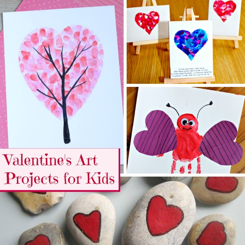 valentine's day art projects for kids - mom foodie, Ideas