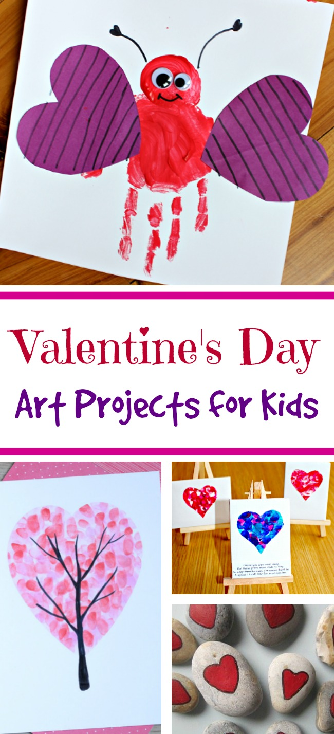 Valentine 39 s day art projects for kids mom foodie for Valentine craft projects kids