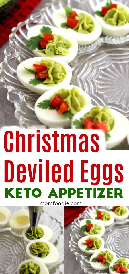 christmas deviled eggs keto