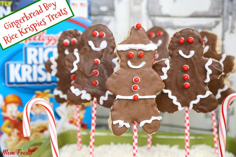Rice Krispies Gingerbread Boys